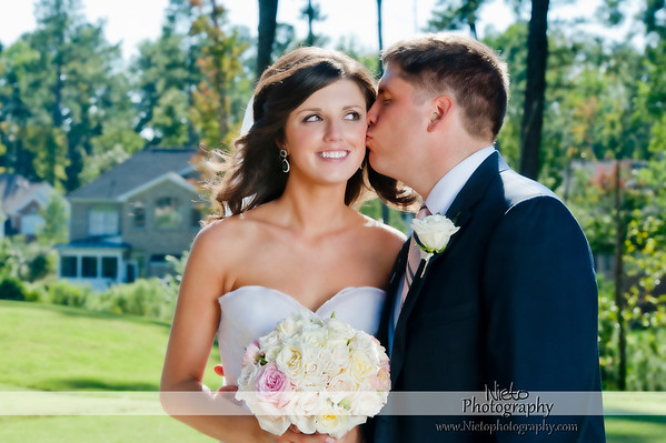 Kelly Burnette & Brandon Moorefield - Brier Creek CC - Sept 23 2012
