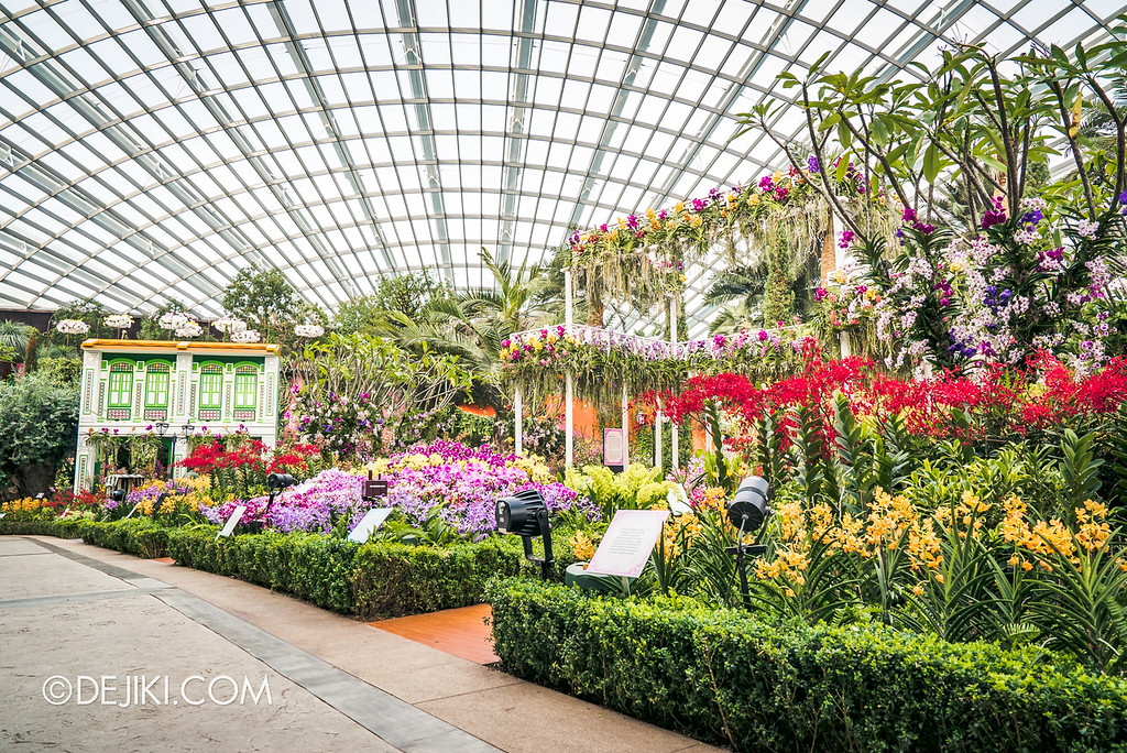 Gardens by the Bay - Orchid Extravaganza 2018 / Lower Level