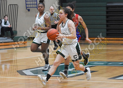 Canton - Brookline Girls Basketball 1-12-20
