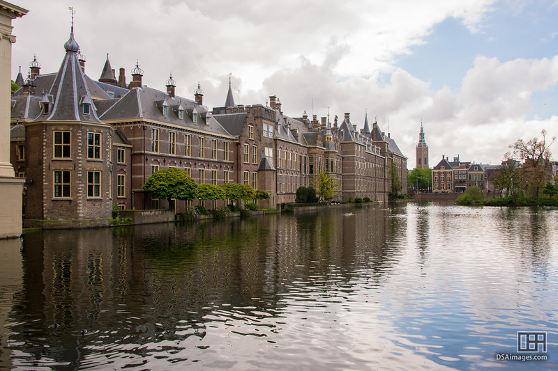 Court Pond and Inner Court, The Hague