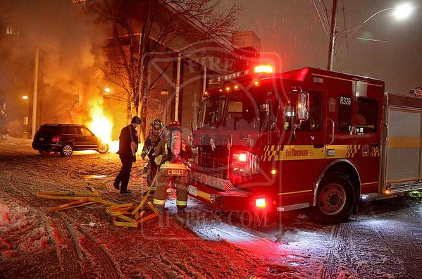 December 17, 2016 - Vehicle Fire - 1631 Queen Street East