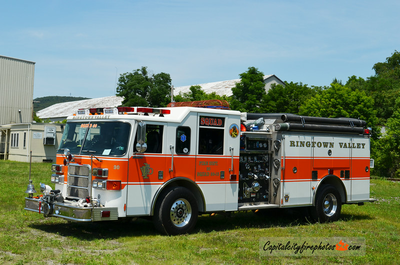 Ringtown Valley Emergency Services (Union Township) Squad 30-15: 2002 Pierce Enforcer 1750/1000 (X-Earleigh Heights, MD)