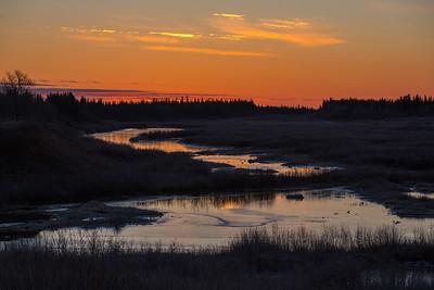 Fort Albany 2014 November 2nd sunrise
