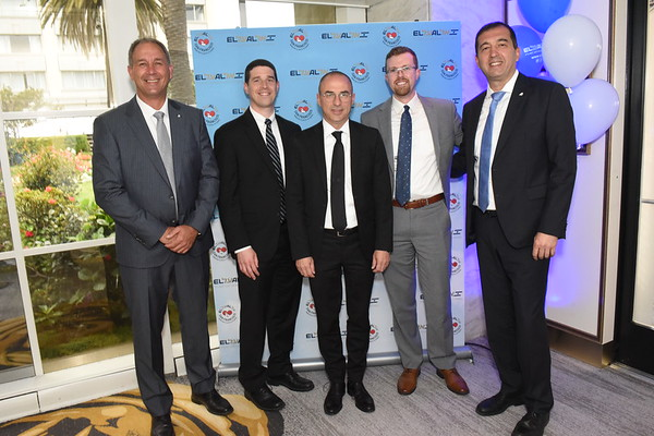 2019 - EL AL Israel Airlines Event - San Francisco Fairmont Hotel