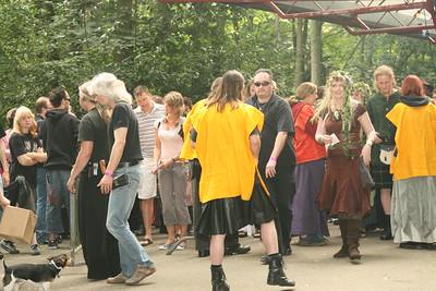 Foto's op het terrein zaterdag 2-8-2008