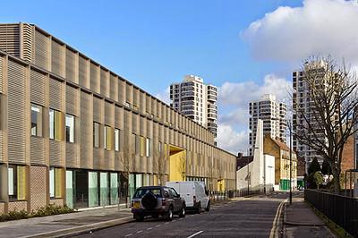 Imar Expanded Mesh- SMAA & Highshore Academy London SE15