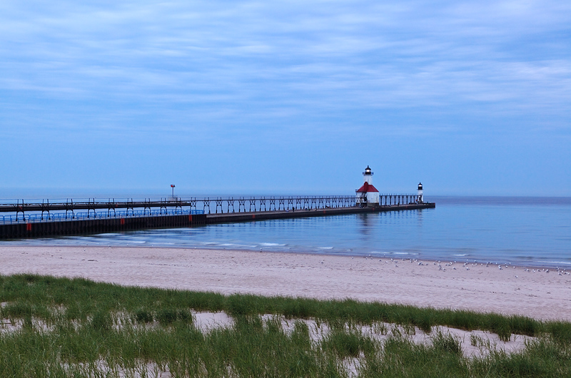 St. Joseph North Pierhead Lights (St. Joseph, MI)