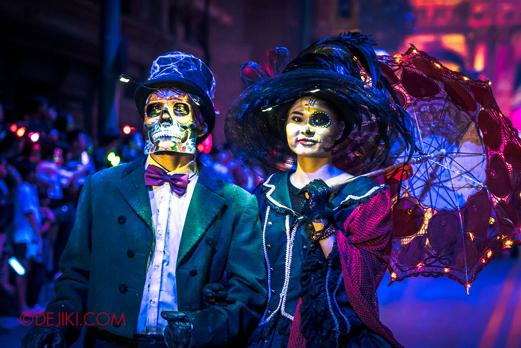 Halloween Horror Nights 6 Final Weekend - March of the Dead / Dapper