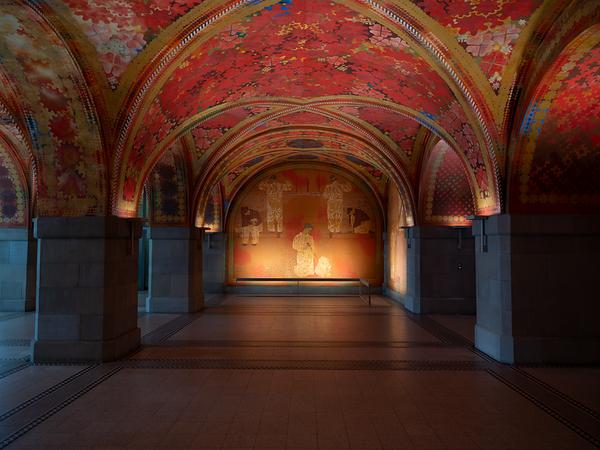 Amtshaus I, Giacometti-Halle