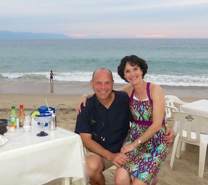 Beach dining - Puerto Vallarta, Mexico