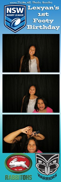 Lexyan's 1st Photo Bday Photo Booth Strip