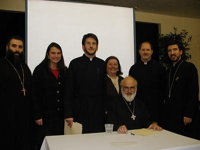 Community Life - Regional Parish Council Seminar - November 20, 2002