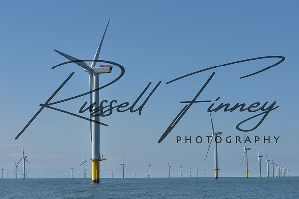 Barrow-in-Furness wind Farm and the Piel Channel
