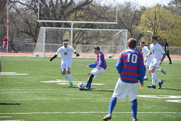 JV Boys Soccer vs Pius X