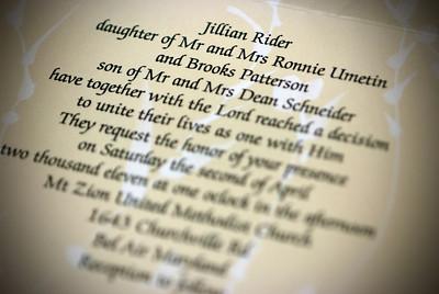 Jillian and Brooks' Wedding