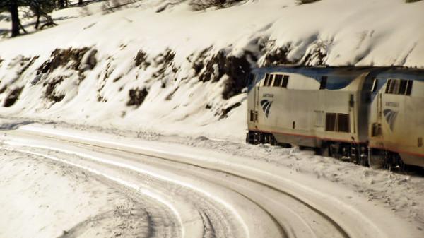 Amtrak's California Zephyr - Nevada to California
