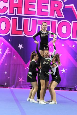 Cheer On! Bears  Gobi Bears - Junior Stunt Group 2