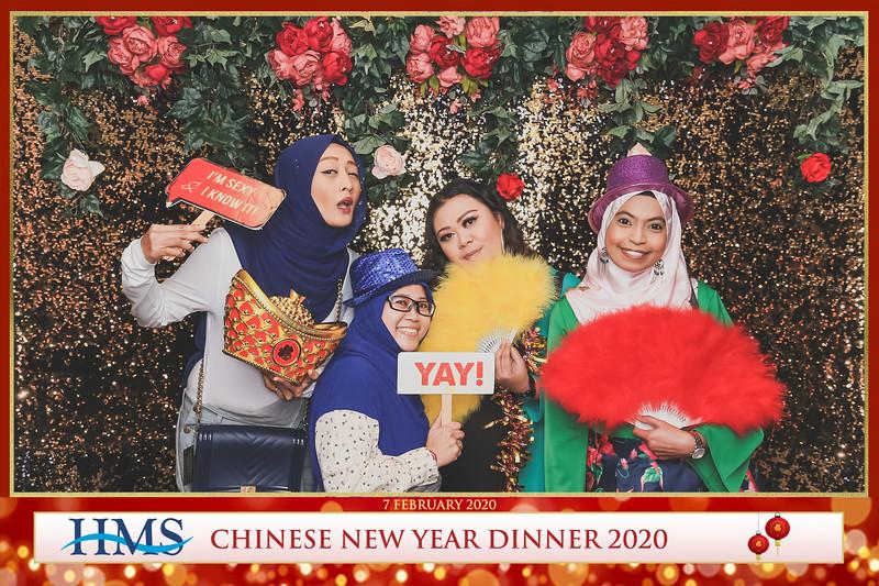 HMS Chinese New Year Dinner 2020   © www.SRSLYPhotobooth.sg
