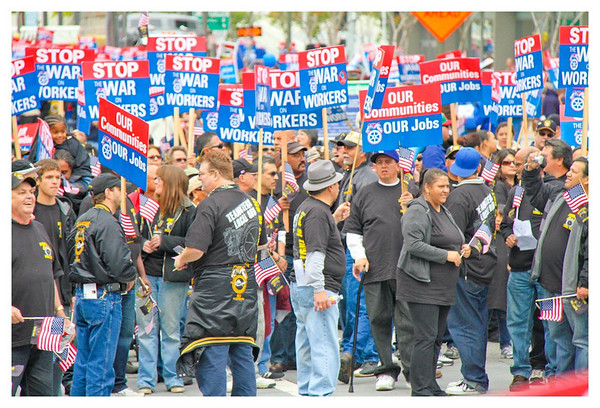 LA Workers' Rally 2011