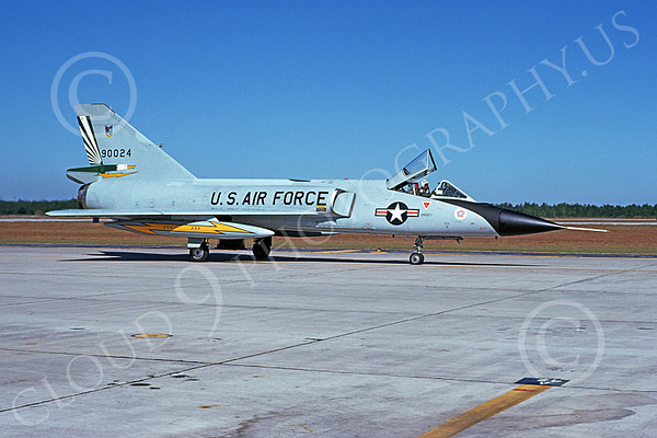 U.S. Air Force 49th Fighter-Interceptor Squadron CAVALIERS AND GREEN EAGLES Military Airplane Pictures