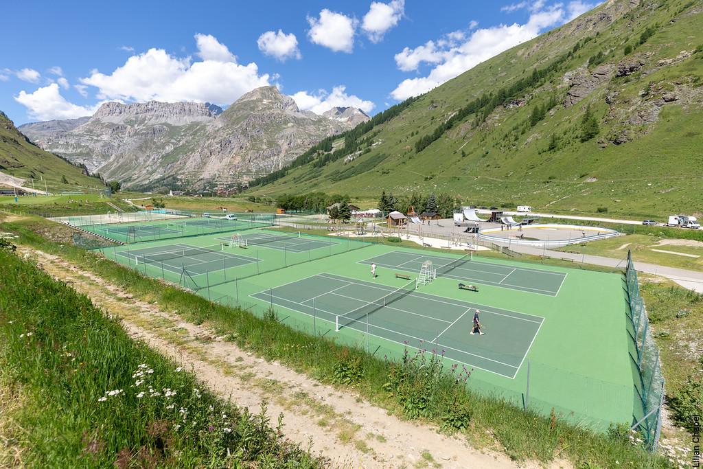 Tenis Val d'Isère