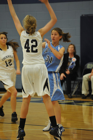 8th Grade Evans Basketball 2011