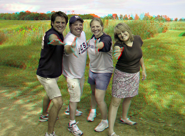 At the Farm - 3D Anaglyph (Glasses Required!)