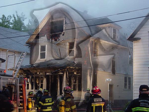 House Fire - Rochester, NY 5/31/03