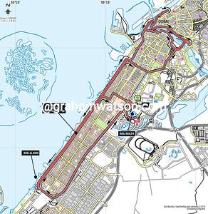 Tour of Dubai Stage 4: World Trade Center > Burj Khalifa, 124kms