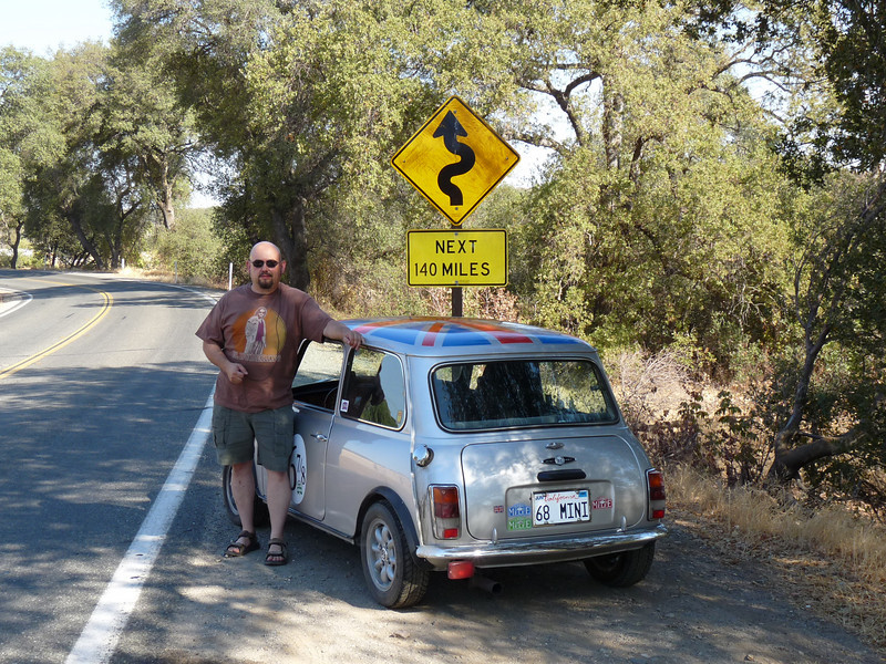 Famous sign in CA-36, Cal Melee XII