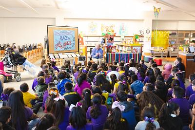 Purple Heart Elementary Author Joe Hayes Visit