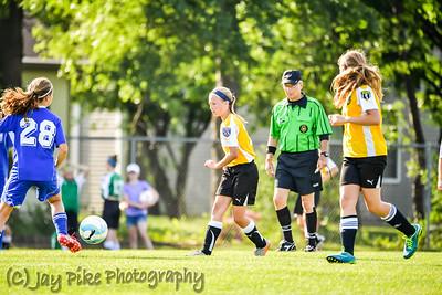 June 11, 2016 - PSC Classic - U13 Girls Gold - 830am PSC Field #8