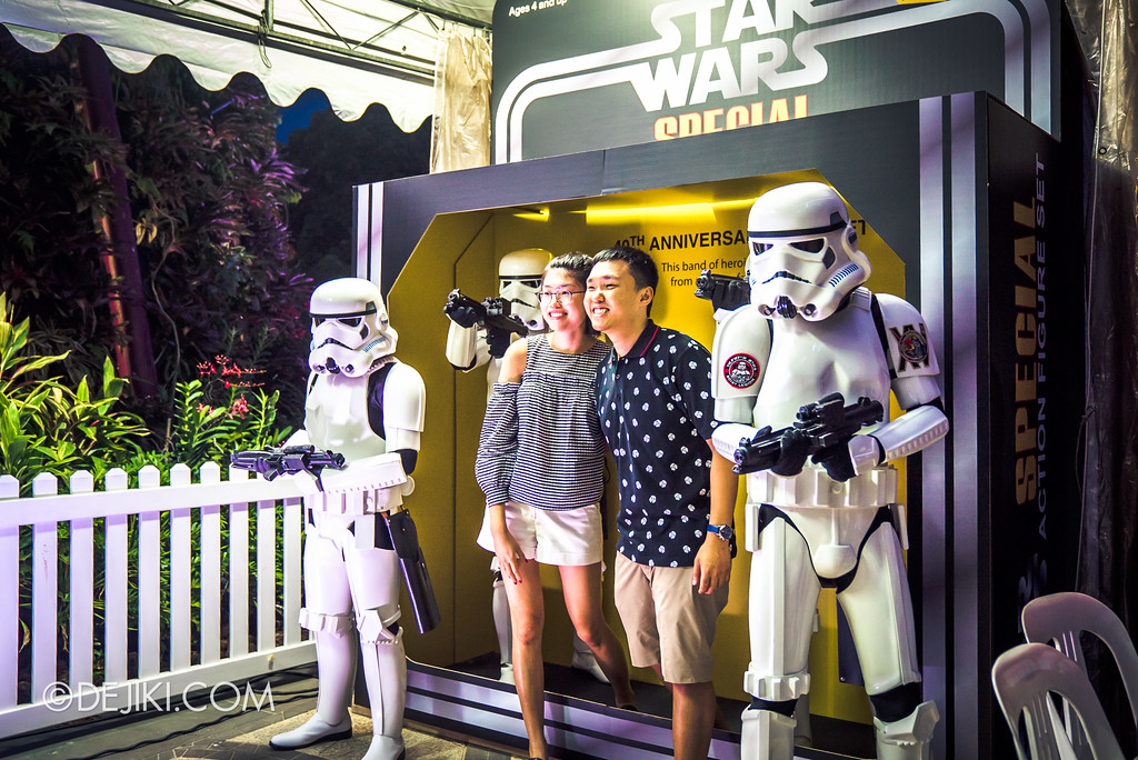 Gardens by the Bay - Star Wars Day 2017 - Charity Photo Booth