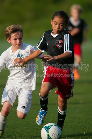 TCYSA U12 SILVER BOYS vs JASA COASTAL SURGE - U12 Boys 8/16/2014