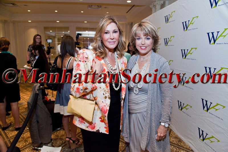THE WOMEN'S FORUM OF NEW YORK - 3rd Annual Elly Awards Luncheon benefitting The Education Fund of the Women's Forum