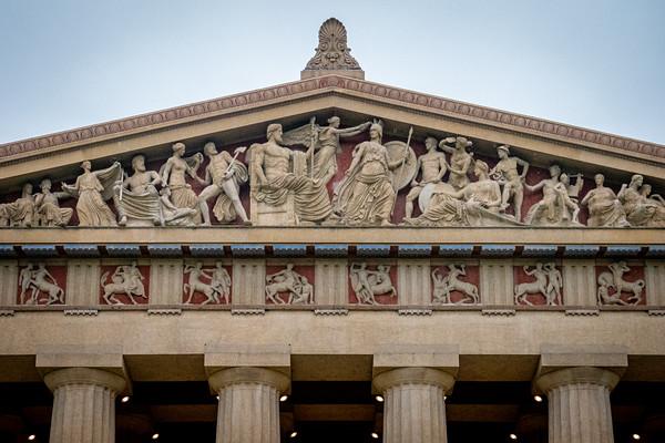 East Pediment of Parthenon in Nashville