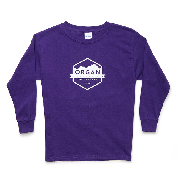 Outdoor Apparel - Organ Mountain Outfitters - Youth Classic Long Sleeve - Purple.jpg