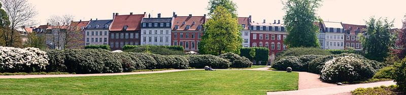 Townhouses by Rosenborg Castle