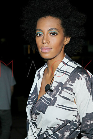 NEW YORK, NY - JULY 29:  Solange Knowles performs at the Atlantis Landromat on July 29, 2013 in the Brooklyn borough of New York City.