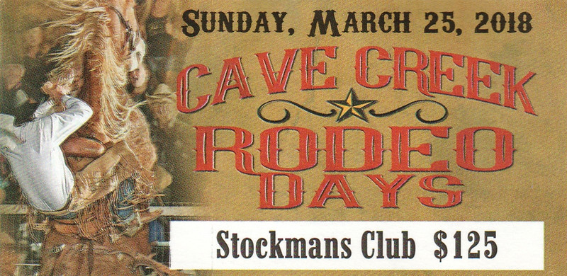 Cave Creek Rodeo 25 March 2018