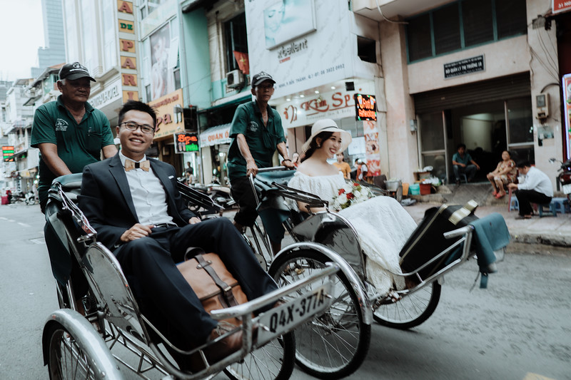 H&T Wedding in SaiGon