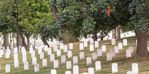 Arlingrton Cemetery, Washington DC. September 2013