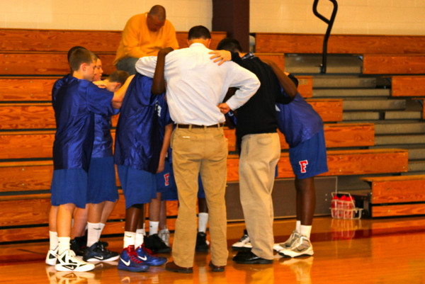 More Middle School Basketball at St. Christophers