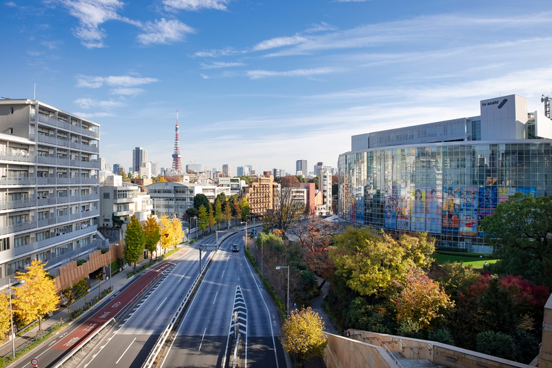 Roppongi view from Roppongi Hills. Editorial credit: Naoto Shinkai / Shutterstock.com
