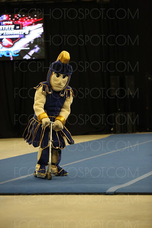 Luke The Warrior Mascot