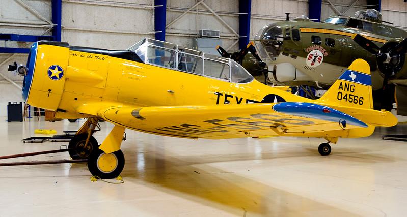 "The North American SMJ-5 ""Texan"", advanced trainer"