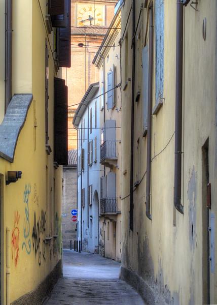 Via Alfonso Chierici - Reggio Emilia, Italy - October 19, 2010