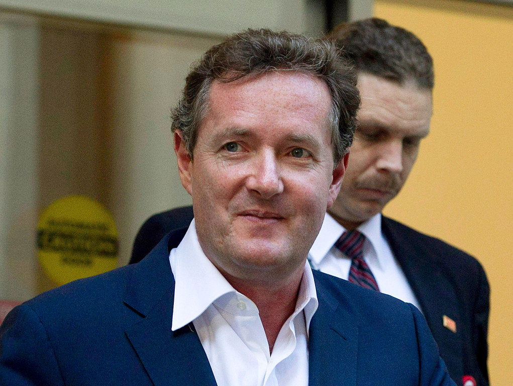". <p>6. (tie) PIERS MORGAN <p>We�re guessing CNN host learned about his firing via a hacked phone call. (4) <p><b><a href=\'http://www.nydailynews.com/entertainment/gossip/piers-morgan-staffers-happy-cnn-canceled-show-sources-article-1.1700769\' target=""_blank\""> HUH?</a></b> <p>    (AP Photo/Jae C. Hong, File)"