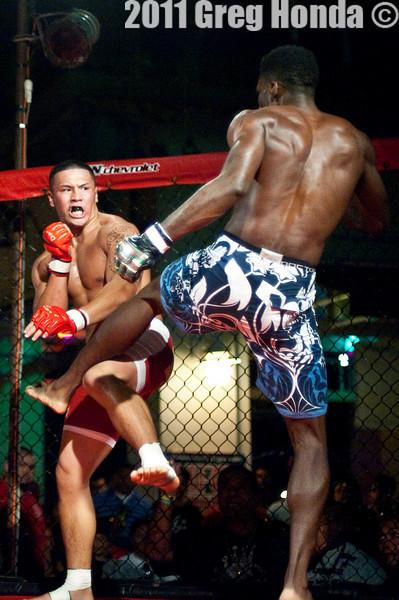 Neale Johnson vs Kevin Aguigui