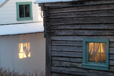 DAY 45 - February 14, 2011 - The Warm Power of the Sun Cynthia Meyer, Tenakee Springs, Alaska